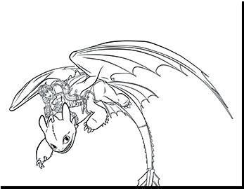 Draken Rijders Van Berk Kleurplaten.Kleurplaten Dreamworks Animation S Hoe Tem Je Een Draak 2